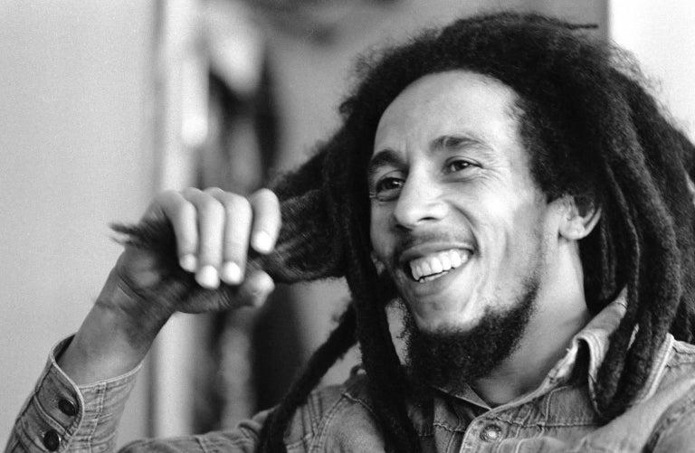 Bill Kennedy Portrait Photograph - 'Bob Marley' 1978 Silver Gelatin Print Limited Edition