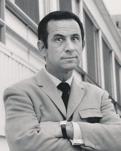 Don Adams: Agent 86 of Get Smart with Arms Crossed Fine Art Print