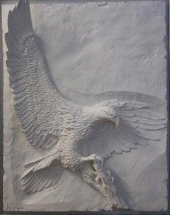Majesty-Framed, Limited Edition Bonded Sand Sculpture. Signed by Artist.
