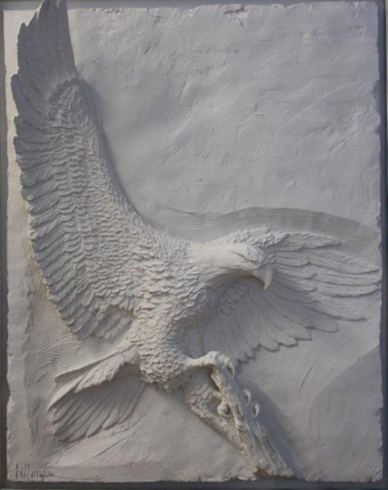 Bill Mack Still-Life Sculpture - Majesty-Framed, Limited Edition Bonded Sand Sculpture. Signed by Artist.