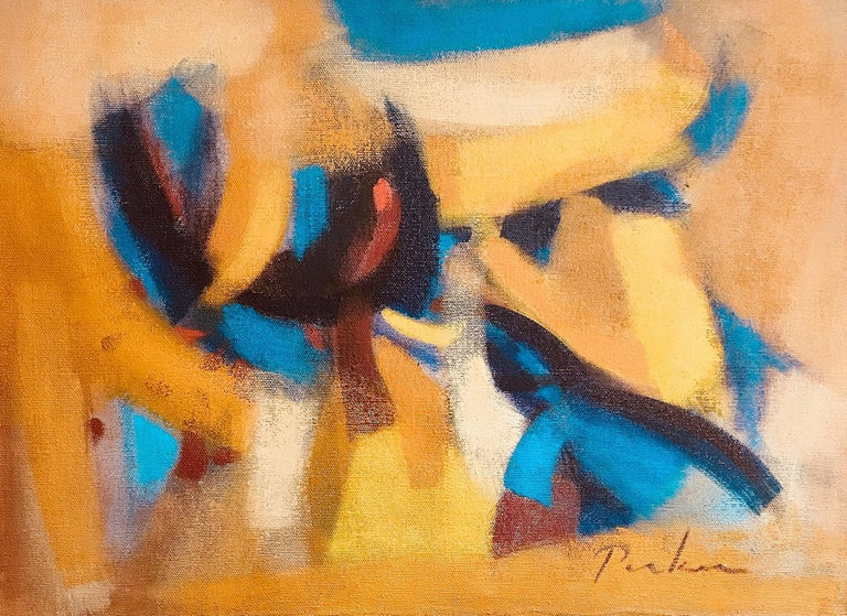 Bill Parker Abstract Painting - Le Midi