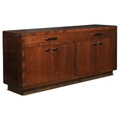 Bill Sofield 2 Drawer, 4 Door, Mahogany Credenza/Sideboard