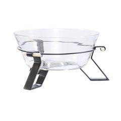 Bill Sofield Baker Triad Glass Centerpiece Bowl