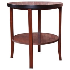 Bill Sofield for Baker Furniture Two-Tier Mahogany Tea Table or Side Table
