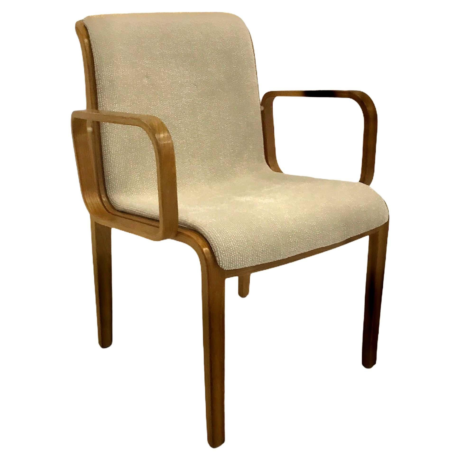 Bill Stephens Midcentury 1300 Series Armed Dining Chair for Knoll