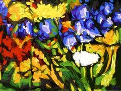 GARDEN 11, Painting, Oil on Canvas