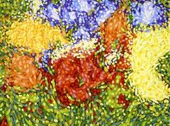 GARDEN 12, Painting, Oil on Canvas