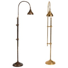 Bill Willis, Matched Pair of Articulated Floor Lamps, Morocco, Late 20th Century