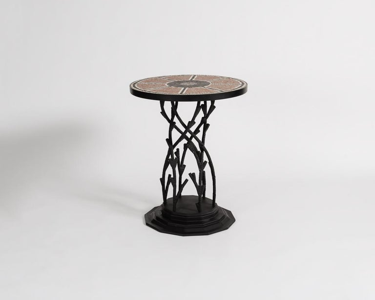 Moroccan Bill Willis, Occasional Table, Morocco, Late 20th Century, France, 2017 For Sale