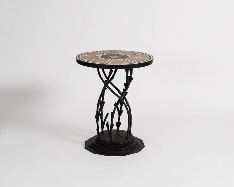 Glazed Bill Willis, Occasional Table, Morocco, Late 20th Century, France, 2017 For Sale
