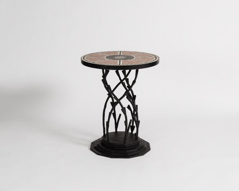 Bill Willis, Occasional Table, Morocco, Late 20th Century, France, 2017 In Excellent Condition For Sale In New York, NY