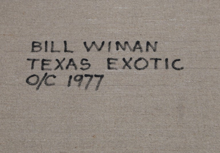 Texas Exotic, Large Painting by Bill Wiman For Sale 2