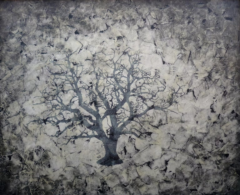 Craik, Contemporary Ink on paper painting - Mixed Media Art by Bill Zima