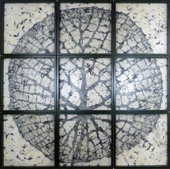 """""""Eagles Fall"""". Contemporary Encaustic Painting"""