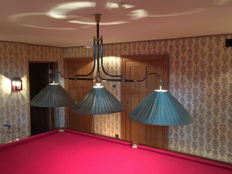 Billiard Snooker Or Pool Table Light New Handmade Br Framed
