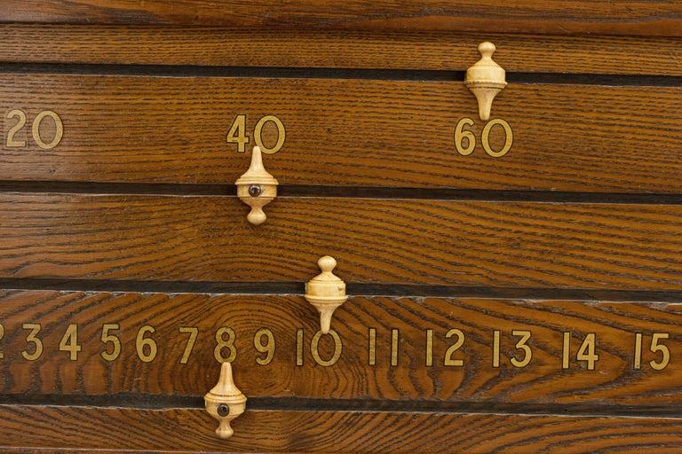 English Billiard, Snooker Score Board Orme & Sons For Sale