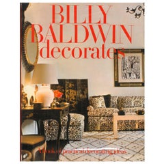 Billy Baldwin Decorates, Book on Iconic Interior Designer