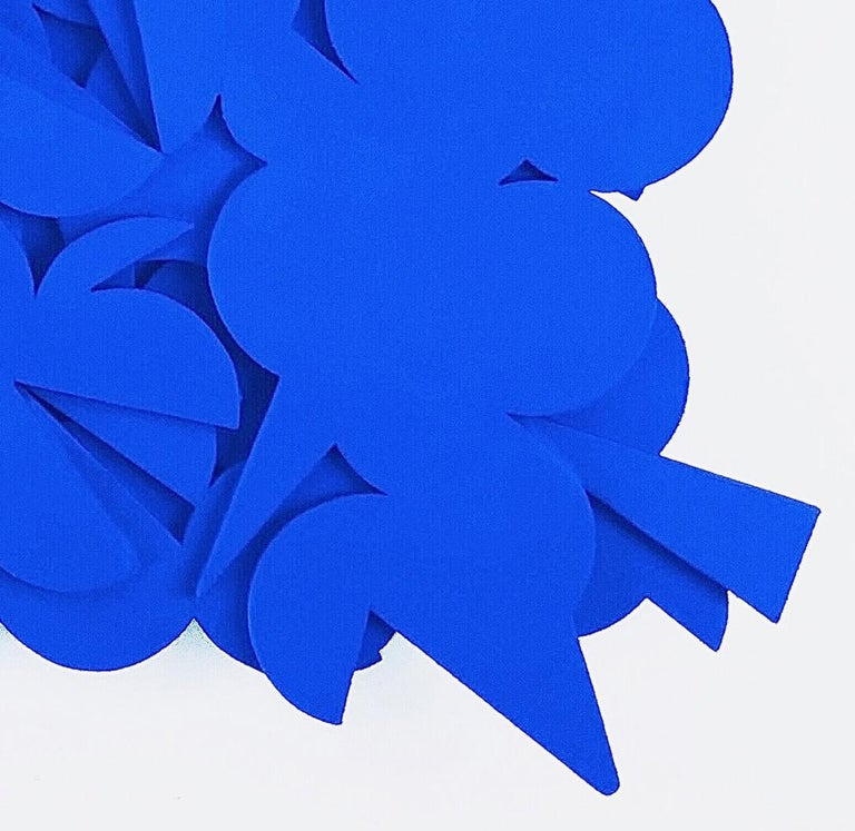 Blue Boy - Abstract Sculpture by Billy Criswell