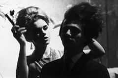 Edie Sedgwick Does Gerard Malanga's Hair in the Movie 'Haircut'