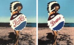 The Pepsi and Drano Girls