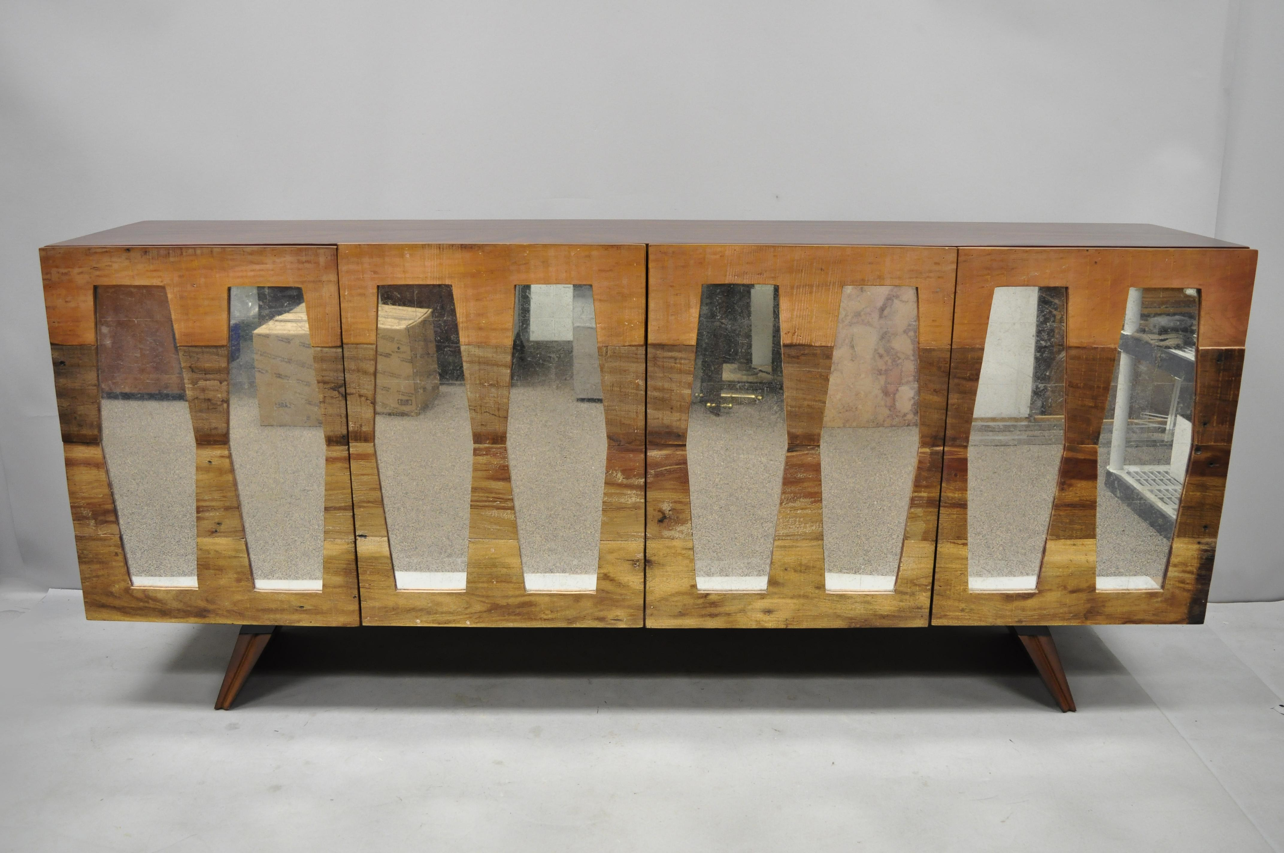 Danish Style Credenza : Bina collection morgan console credenza cabinet danish modern