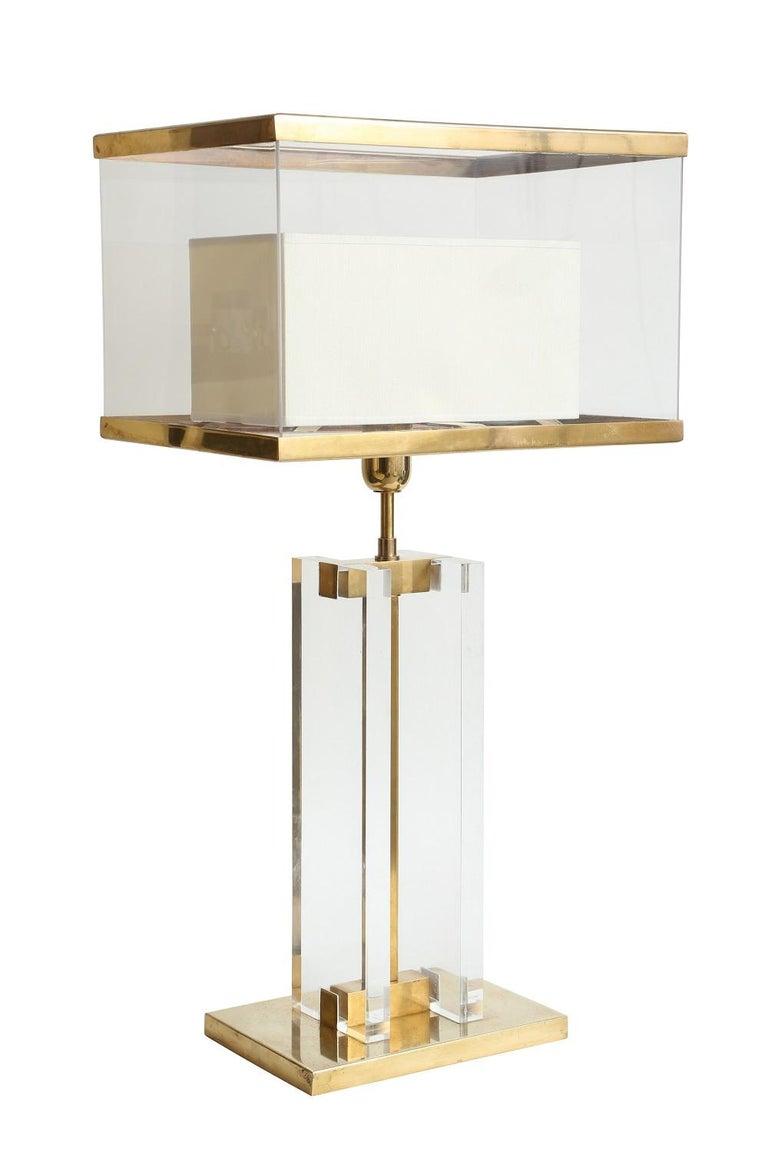 Italian Binario Table Lamp by Selezioni Domus For Sale