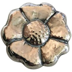 Bindesboll Brooch in Silver from Holger Kyster's Silver Smithy