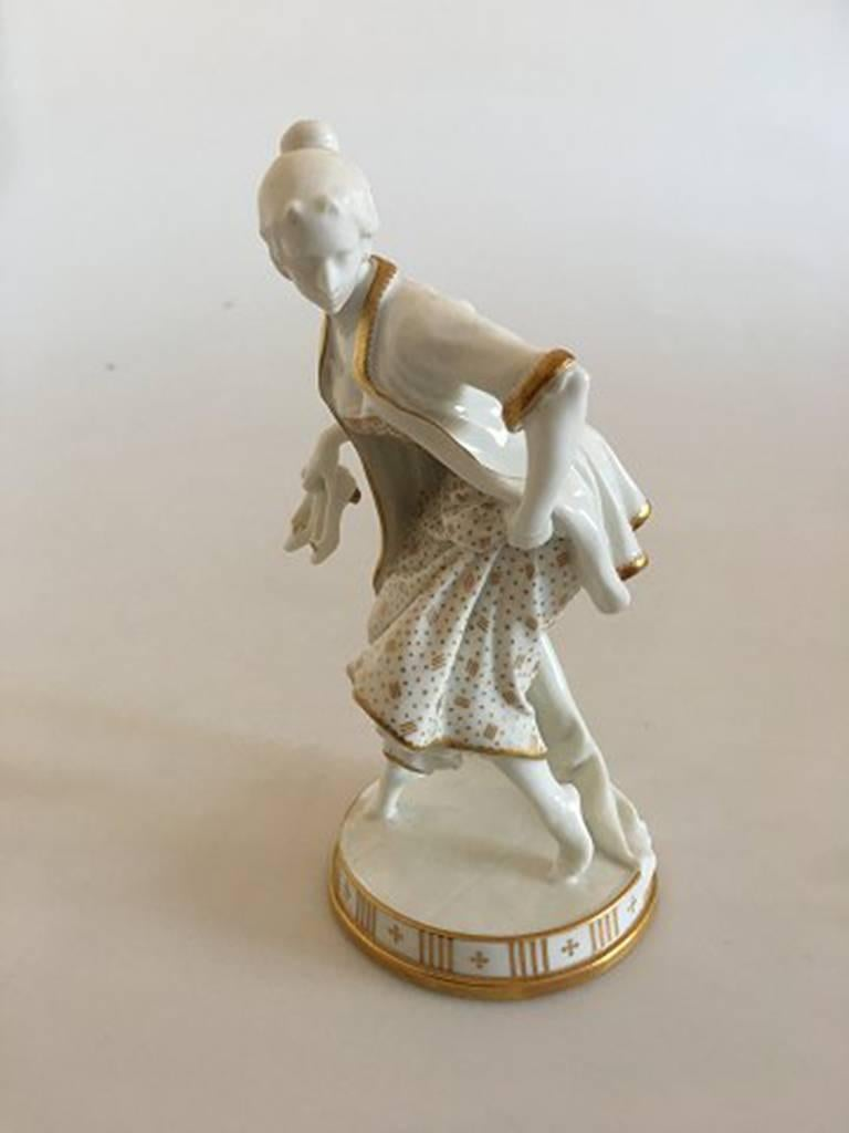 Bing And Gr 248 Ndahl Figurine Lady With Slippers By Hans