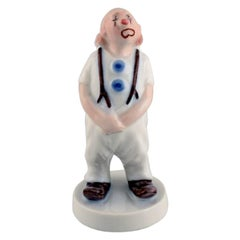 Bing & Grøndahl Porcelain Figure, Clown, Model Number 2508