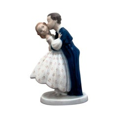 "Bing & Grøndahl ""The Kiss"" Porcelain Figure"