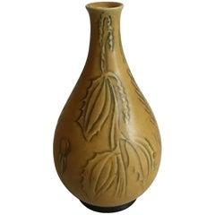 Bing & Grondahl Art Nouveau Stoneware Vase No 1059 by Cathinka Olsen
