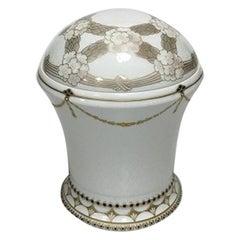 Bing & Grondahl Art Nouveau Unique lidded Vase by Elizabeth Drewes Kofoed no 228