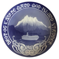 Bing & Grondahl Commemorative Plate from 1907 BG-CM24