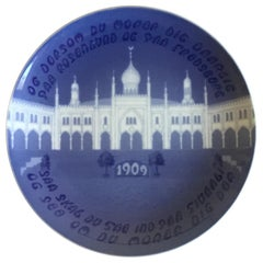 Bing & Grondahl Commemorative Plate from 1909 BG-CM34