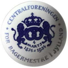 Bing & Grondahl Commemorative Plate from 1924 BG-CM62B