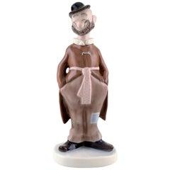 Bing & Grondahl porcelain figurine. Pericles / Vagabond, after Storm P.