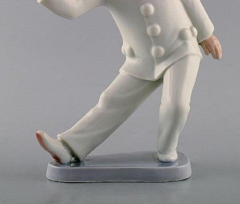 Danish Bing & Grondahl Porcelain Figurine, Pierrot, Model Number 2353 For Sale