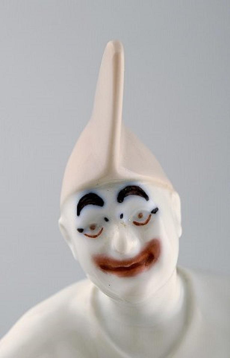Bing & Grondahl Porcelain Figurine, Pierrot, Model Number 2353 For Sale 1