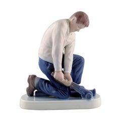 Bing & Grondahl Porcelain Figurine, Plumber