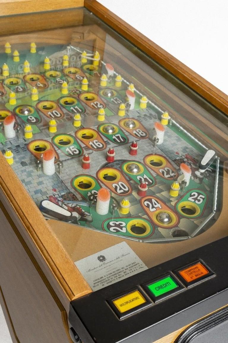 Italian Bingo Pinball, Italy, 1980s