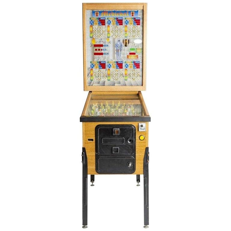 Bingo Pinball, Italy, 1980s