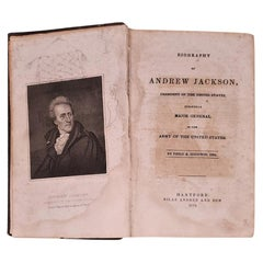 Biography of Andrew Jackson by Goodwin, 1852