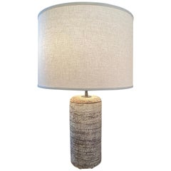 Birch Bark Table Lamp by Peter Lane