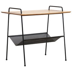 Birch Cees Braakman Side Table TM04 with Magazine Rack for Pastoe, Netherlands