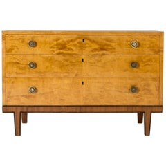 Birch Chest of Drawers by Otto Schulz