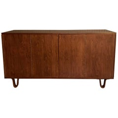 Birch Credenza Sideboard by Cees Braakman for Pastoe, Combex Series, Holland