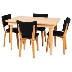 Birch Mid-Century Modern Dining Room Set by Cor Alons for Gouda Den Boer