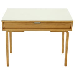 Birch Small Desk or Console Table by Thonet