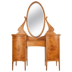Birch Vanity Table, circa 1920