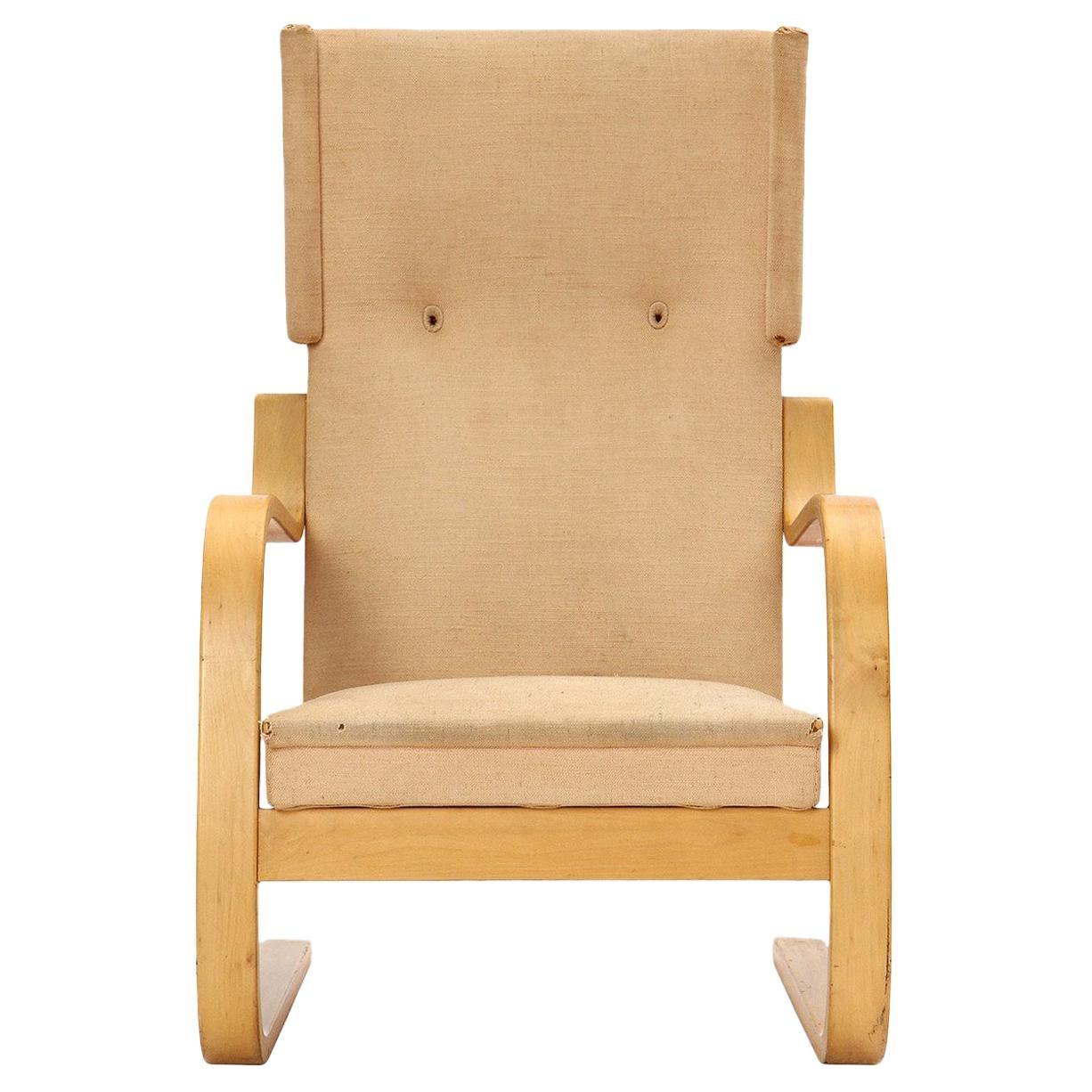 Birch Wingback Lounge Chair by Alvar Aalto for Artek